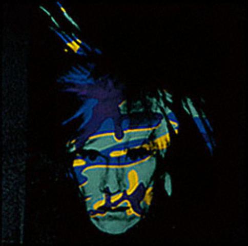 "Warhol created ""Self Portrait"""