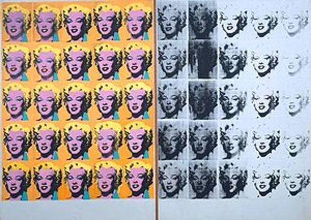 """""""Marilynditych"""" Warhol Acrylic on canvas"""