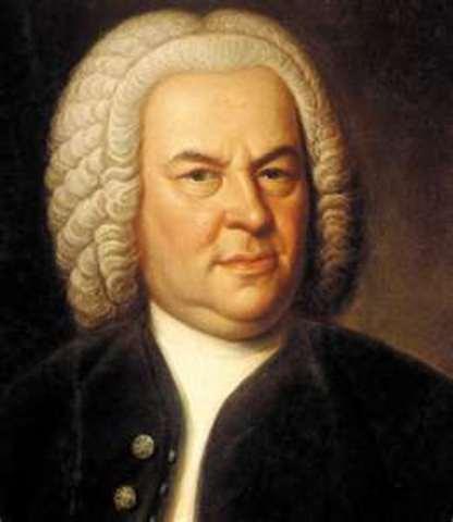 Johann Sebastian Bach (birth)