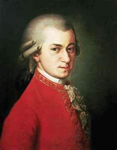 Wolfgang Amadeus Mozart (birth)