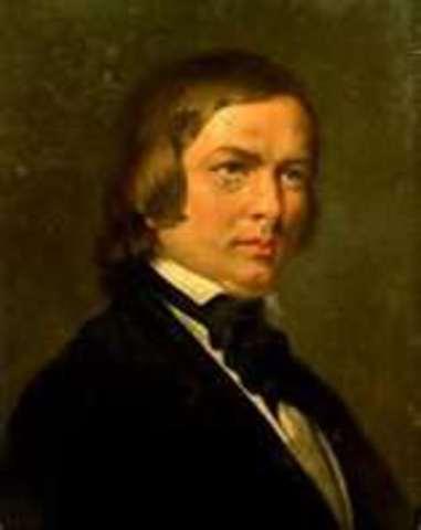 Robert Schumann (birth)