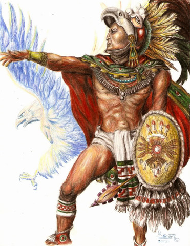 Cuahutémoc asiende a tlatoani siendo este el ultimo.