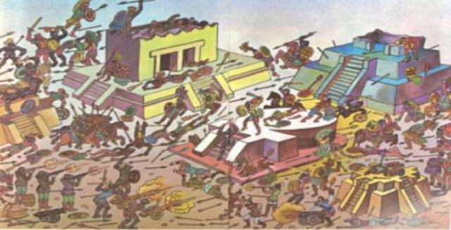 Cae la Gran Tenochtitlan