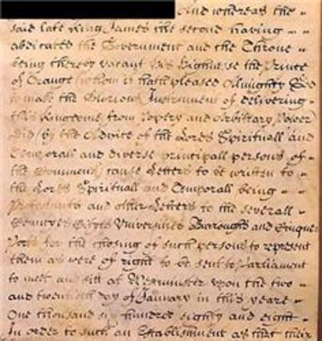 The Ratification of the English Bill of Rights (A.Afsari)