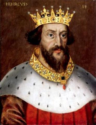 Henry I becomes King of England