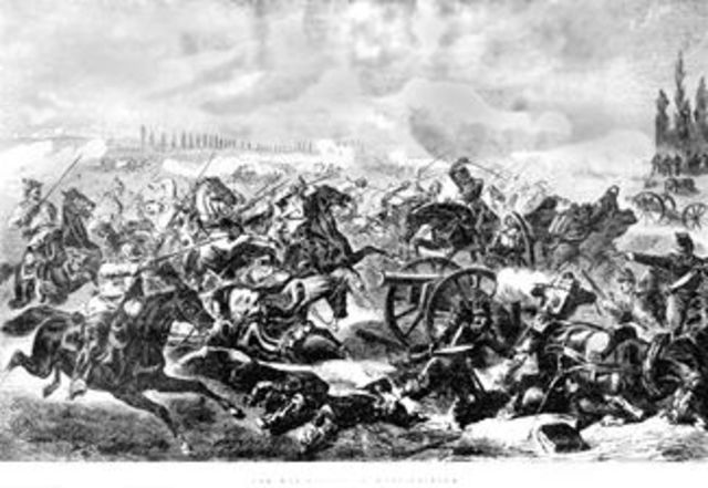 Defeat of French by Germans