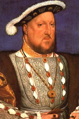 Irlands første konge - Henrik 8.
