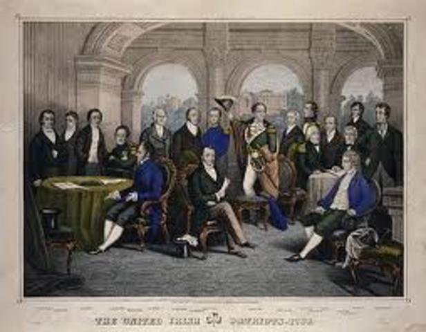 Society og United Irishmen oprettes.
