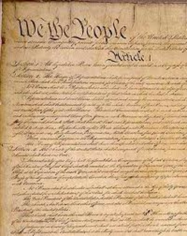 Constitution Was Signed
