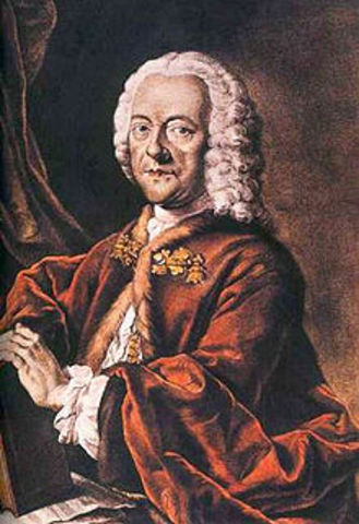 Georg Philipp Telemann dies