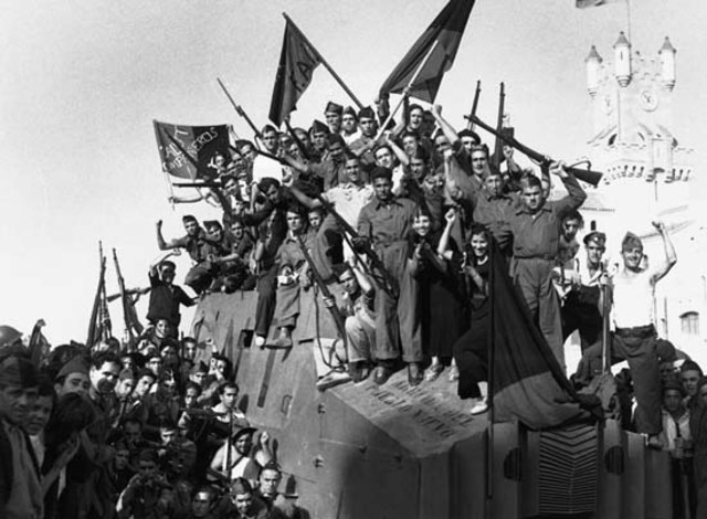 Spanish Civil War Start