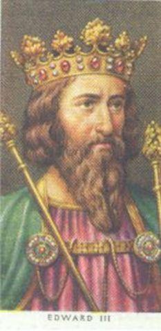 Edward III reigns King of England