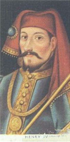 Henry IV reigns King of England