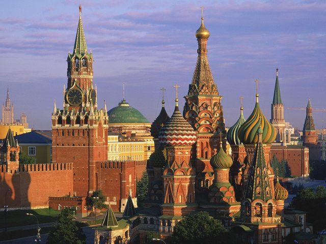 Kremlin built in Moscow