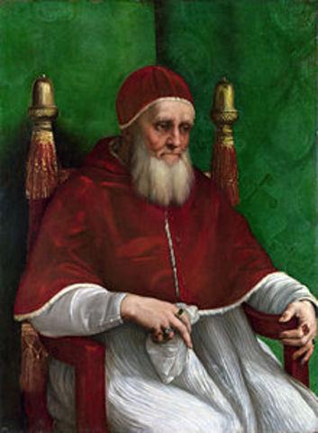 Julius II is appointed as Pope.