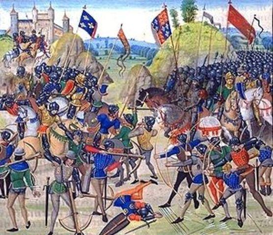 Battle of Crecy break out