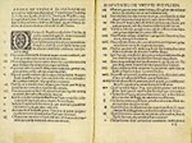 Start of the Protestant Reformation