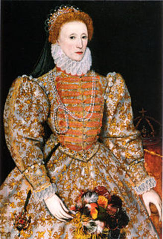 Elizabeth I succeeds throne of England