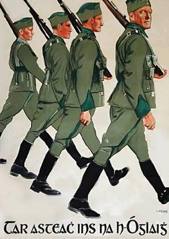 Påskeoprøret - Efterspørgelse på frivillige irske mænd