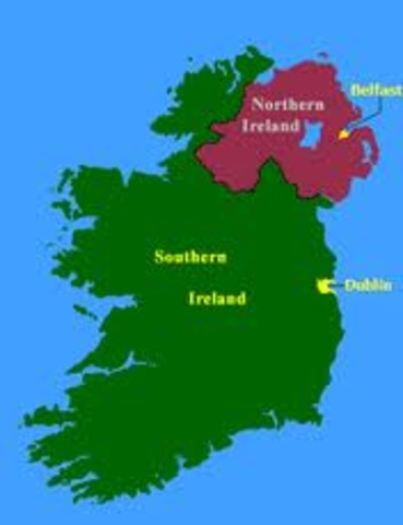 Irlands deling