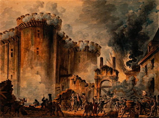 Storming of the Bastile (Part 1 of 2) (1789)