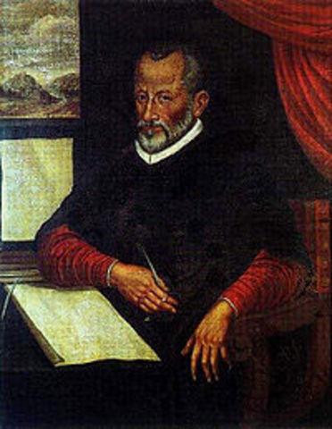 Giovanni Pierluigi da Palestrina is born.