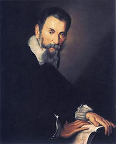 Claudio Monteverdi is born