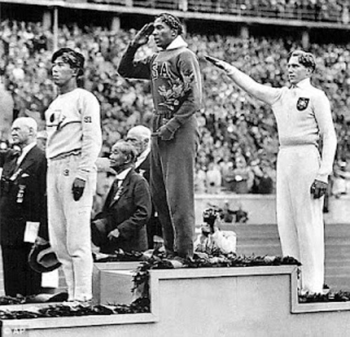 Jesse Owens at the 1936 Games