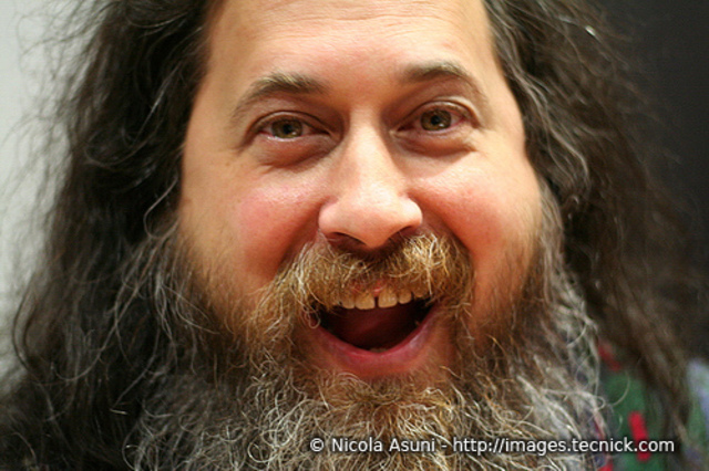 Richard Stallman fundador de gnu