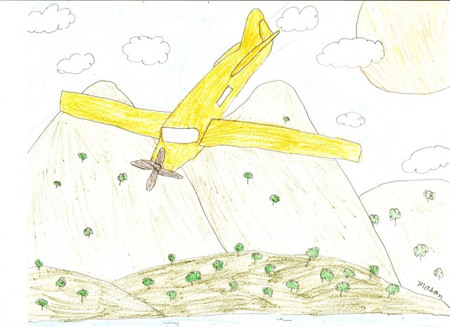 Brian 13yrs - Plane crashes