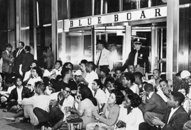 Civil RIghts Act of 1964 Due to Sit Ins