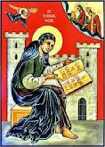 St THOMAS MORE starts to studie