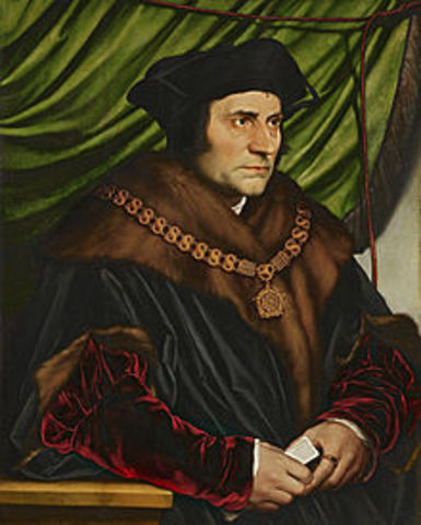 The birth of St Thomas more