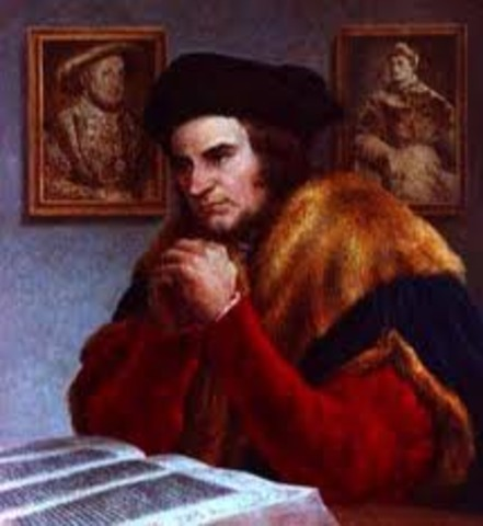 The death of St Thomas more