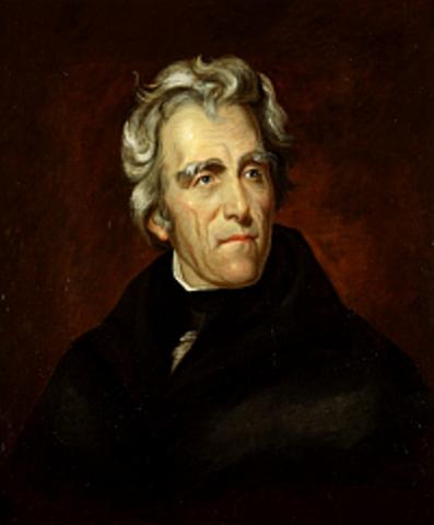 Jackson elected president