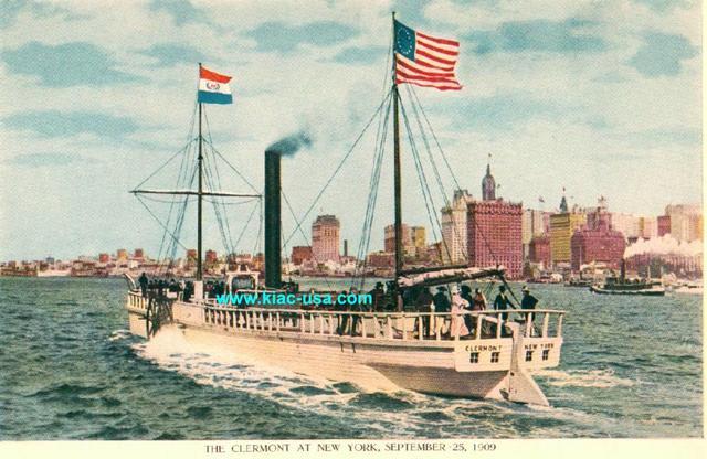 Robert Fulton's steamboat