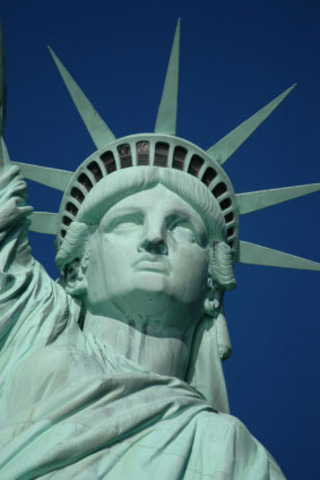 Statue of Liberty built