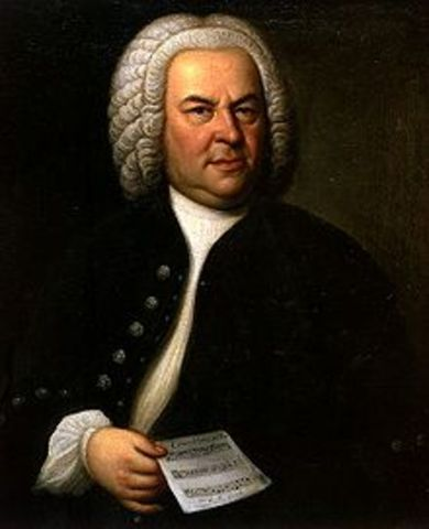 J.S Bach is born