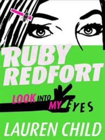 """*Ruby Redfort """"Look Into My Eyes """""""