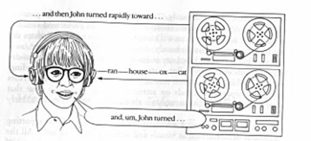 Donald Broadbent creates the dichotic listening task