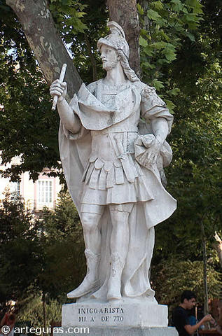 Iñigo Arista (Dinastia Iñiga- Arista)