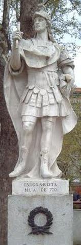 Iñigo Arista- Dinastía Iñiga