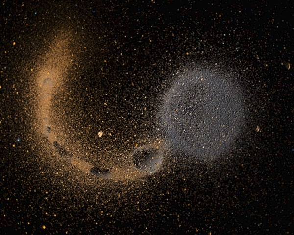 (5 billion years ago) Mass of Dust
