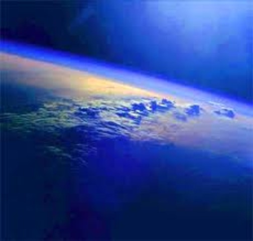 (4 Billion Years Ago) Formation of Earth's Atmosphere