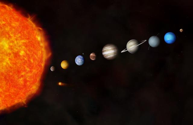 (5 BYA) Sun & Solar System Formed