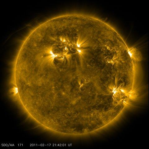 Creation of the Sun (5BYA)