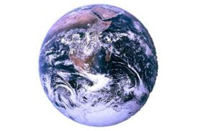 (4.6 BYA) Earth Formed