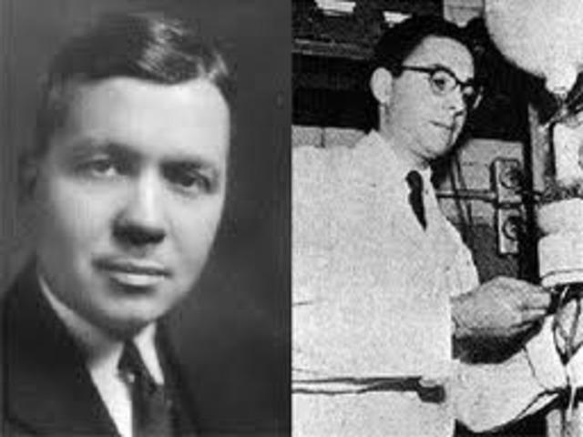 (1953) Stanley Miller and Harold Urey