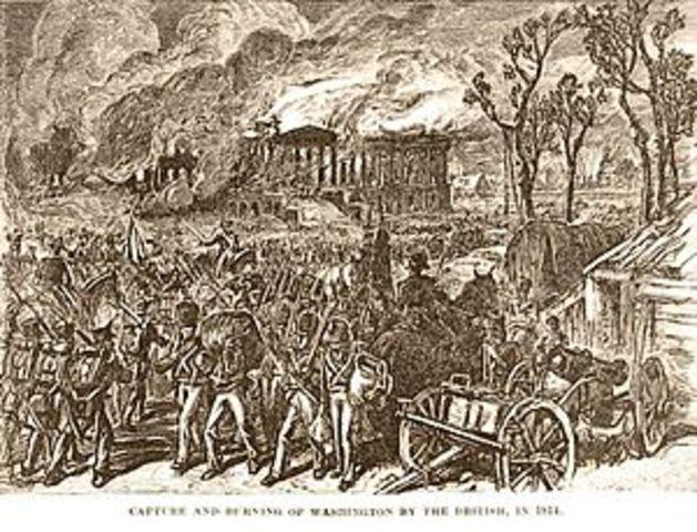 British Attack Washington D.C.