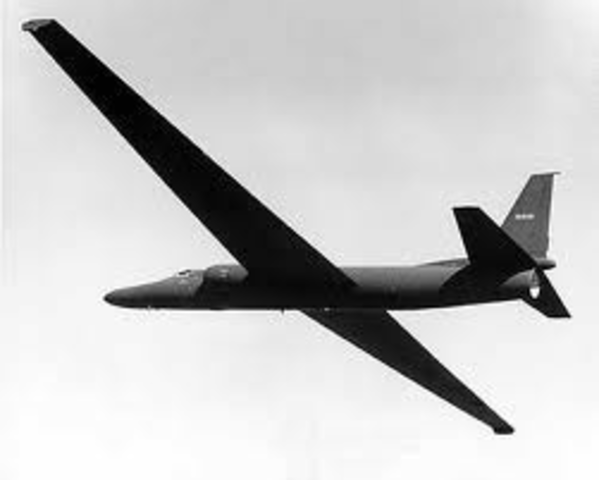 American U-2 spy plane, piloted by Francis Gary Powers, shot down over Russia.